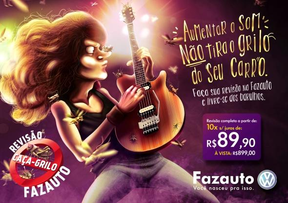 Caça-Grilo-Guitarrista