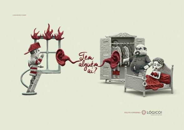 logico - bombeiro vs marido